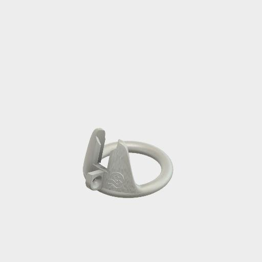 Gun Metal Grey Base Ring