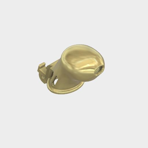 FMJ 14K Gold Cage