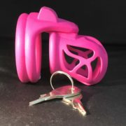 Ghost Magic Lock Double Ring Pink non lock side