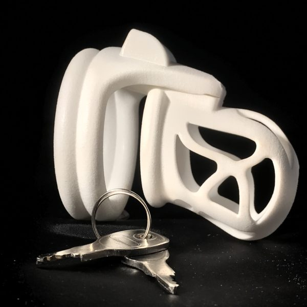 Ghost Magic Lock Double Ring White non lock side