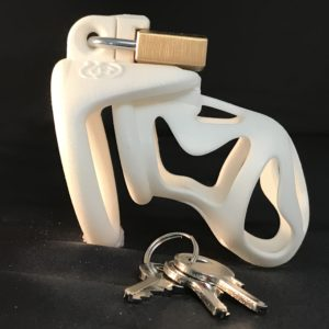 Ghost Padlock Single Ring